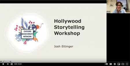 Screenshot from Josh's seminar
