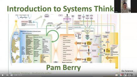 Screenshot from Pam's seminar