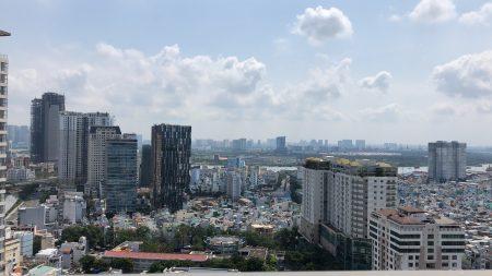Skyline view of Ho Chi Minh City