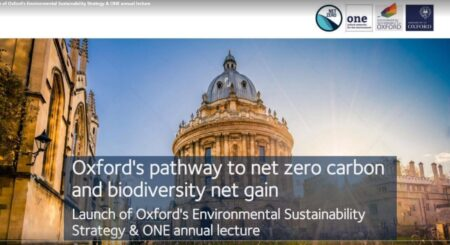 screen shot of the laecture- oxford in background