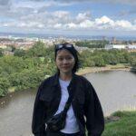 Profile picture in black and white of Jingdi Li