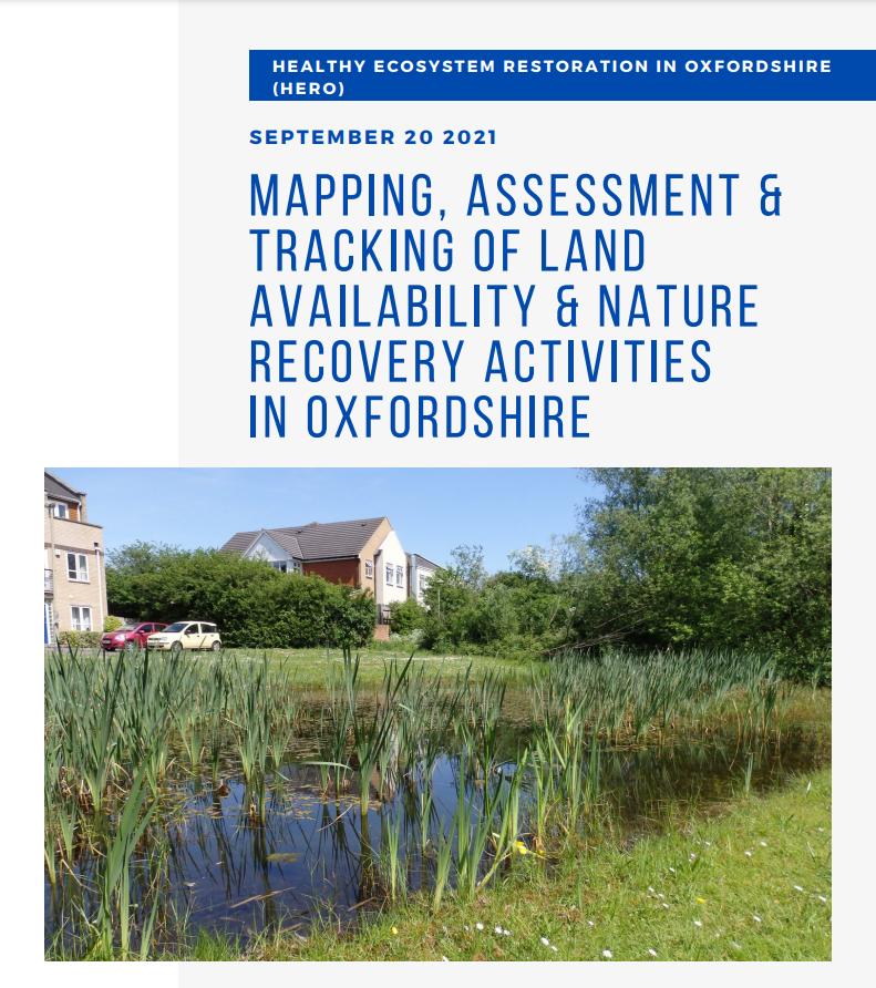biodiversity pond. cover of workshop